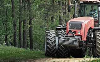 Трансмиссия трактора МТЗ: устройство и неисправности