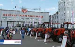 Модельный ряд тракторов МТЗ