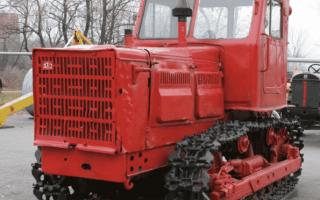 Модельный ряд тракторов Алтай