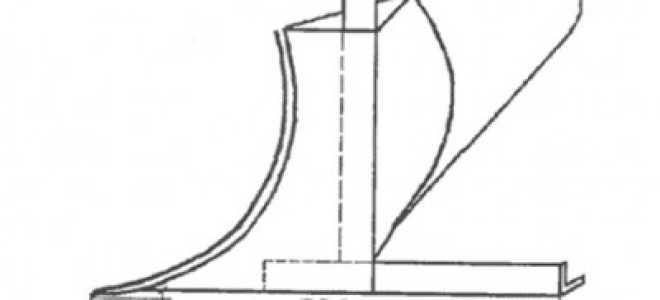 Плуг для мотоблока своими руками, чертежи ручного плуга для культиватора — MTZ-80.ru