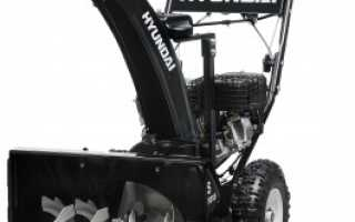 Снегоуборщик бензиновый hyundai s 5555 — характеристики