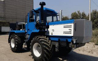 Трактора Т-150 и Т-150К — модификации, технические характеристики