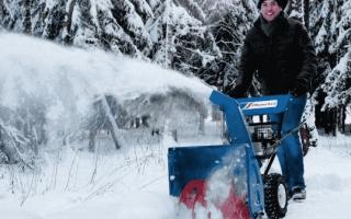 Снегоуборщики Мастер ярд (Masteryard) — обзор модельного ряда