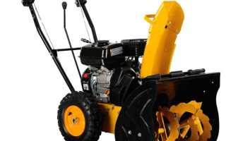 Снегоуборщик Redverg RD 240 65 — Характеристики и описание