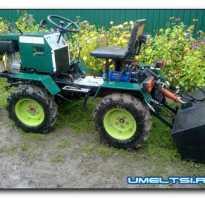 Раздел — Самоделки тракторов