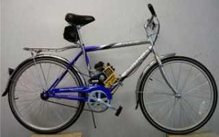 Велосипед с мотором от триммера – подготовка и сборка мопеда и самоката
