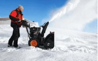 Лопата-отвал, снегоотвал, щетка и снегоуборщик для мотоблока