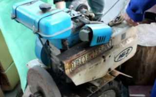 Не заводится дизельный мотоблок: запчасти, ремонт своими руками
