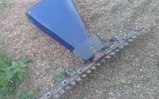 Самодельная роторная и сегментная косилка для мотоблока своими руками