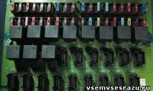 Предохранители вольво fh12: электросхема