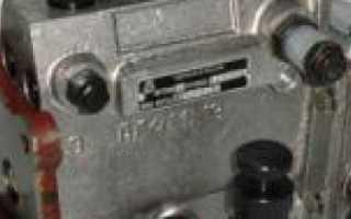 ТНВД МТЗ-80: Устройство, регулировка, схемы, советы