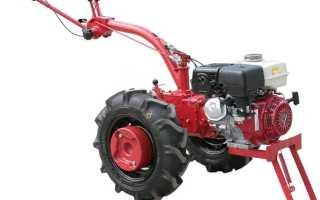 Мотоблок МТЗ 09н с двигателем Honda — особенности