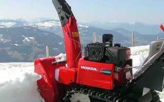 Снегоуборщики Honda (Хонда) – описание и характеристики агрегатов