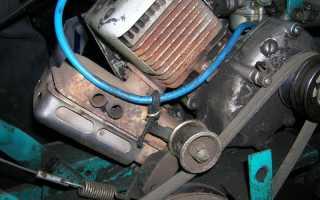 Мотокультиватор Крот — замена двигателя на импортный