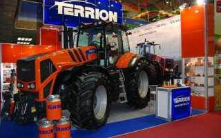 Трактора Terrion – преимущества моделей