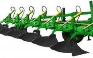 Плуг для трактора: устройство и принцип работы