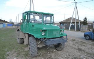 Самодельные трактора из ГАЗ — изготовление, схема, особенности