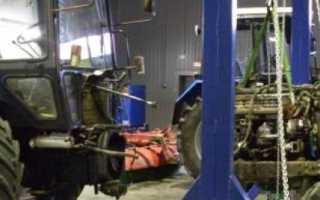 Ремонт тракторов МТЗ: Технология проведения работ