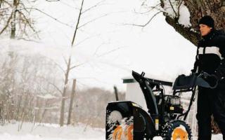 Снегоуборщики Партнер (Partner) — обзор модельного ряда