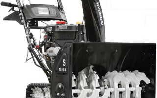 Снегоуборщики «Hyundai» — обзор модельного ассортимента