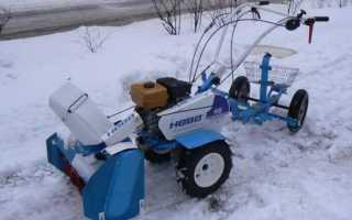 Мотоблок зимой: подготовка и зимнее использование