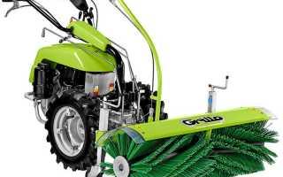 Уборка снега мотоблоком: видео чистки лопатой, щеткой, шнек ротором