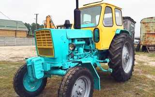 Трактор ЮМЗ 6:технические характеристики, вес, двигатель, КПП — MTZ-80.ru