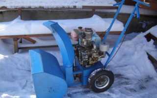 Снегоуборщик из бензопилы Дружба или Урал своими руками — инструкция