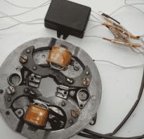 Схема электронного зажигания для мотоблока Каскад