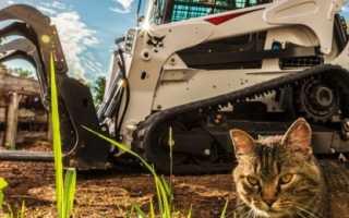 Оборудование и техника Bobcat, виды техники бобкэт