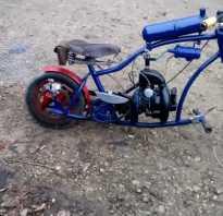Велосипед с мотором от бензопилы своими руками – сборка мопеда, картинга, самоката и квадроцикла