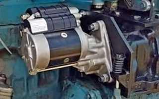 Установка стартера на мтз 80 вместо пускача — MTZ-80.RU