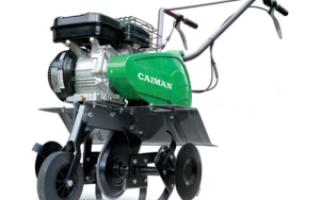 Культиваторы Caiman 50S C2 и Caiman 60S C2 — особенности и характеристики