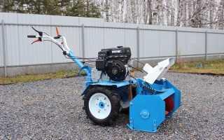 Навесное оборудование для мотоблока Нева МБ-2, МБ-23, МБ-1: видео