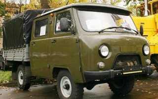 Уаз Фермер 390945: технические характеристики, размер кузова — MTZ-80.ru