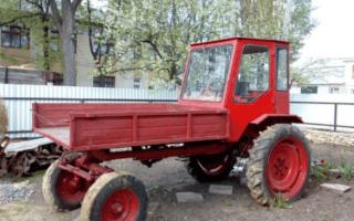 Трактора Т-16 (Шассик) — навесные оборудование, характеристики