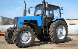 Трактора Беларус 1221 — характеристики, навесное оборудование