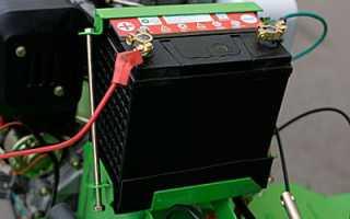 Виды аккумуляторов для дизельных и бензиновых мотоблоков