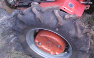 Утяжелители для колес мотоблока Салют, сделать своими руками
